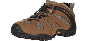 Merrell Men's Chameleon 8 - Top Hiking Shoes for Flat Feet