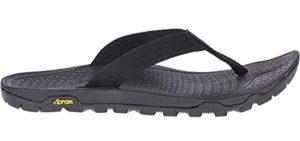 Merrell Men's Flip Flop - Most Comfortable Sandals for Bunions