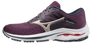 Mizuno Women's Wave Inspire 17 - Running Shoes for Overpronation