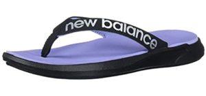 New Balance Women's 340V1 - High Arch Support Flip Flops