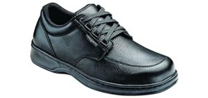 Orthofeet Men's Avery - Comfort Office Work Shoes for Flat Feet