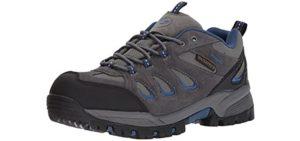 Propet Men's Ridge Walker - Outdoor Walking and Hiking Shoe for Flat Feet