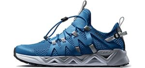 RAX Men's QuickDry - Water and Hiking Shoes for Rocky Beaches