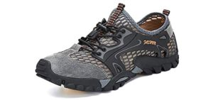 RAX Women's QuickDry - Water and Hiking Shoes for Rocky Beaches