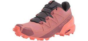 Salomon Women's SpeedCross 5 - Trail Running Shoe for High Arches