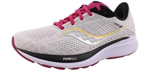 Saucony Women's Guide 14 - High Arch Running Shoes
