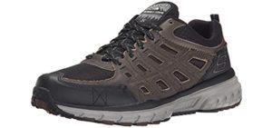 Skechers Men's Geo Trek - Outdoor Walking Sneakers