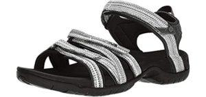 Teva Women's Tirra - Sporty Sandal for Tarsal Tunnel Syndrome