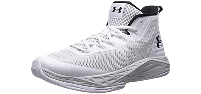 Under Armour Men's Jet - Stability Basketbal Shoe