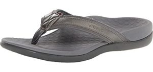 SOLE Women's Sport - High Arch Support Flip Flops