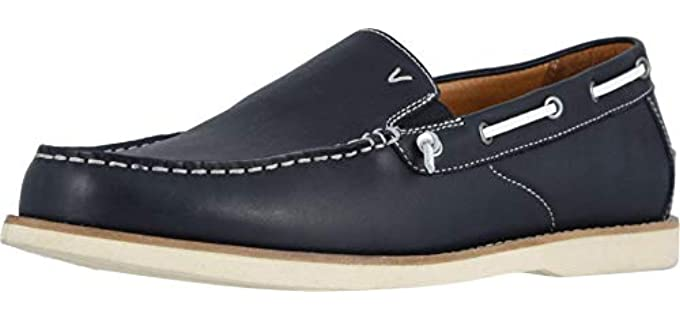 Vionic Men's Spring Greyson - Orthopedic Boat Shoes