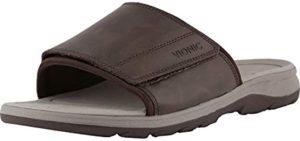 Vionic Men's Canoe Stanley - Adjustable Bunion Sandal