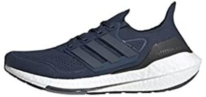 Adidas Men's Ultraboost 21 - Running and Walking Shoes for High Arches
