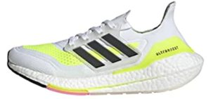 Adidas Women's Ultraboost 21 - Running and Walking Shoes for High Arches